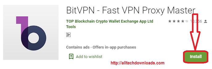 install bitvpn pc
