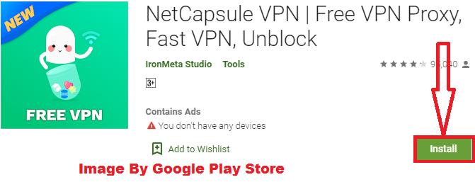 install net capsule VPN for PC