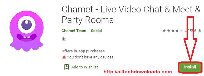 install chamet for pc
