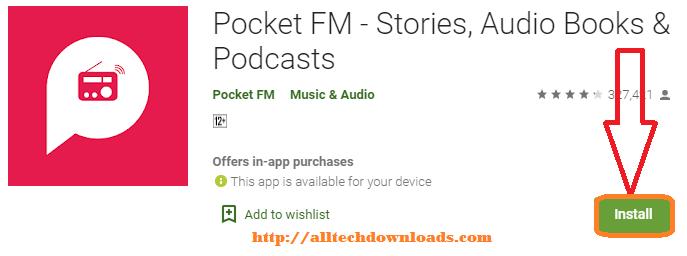install pocket fm for pc